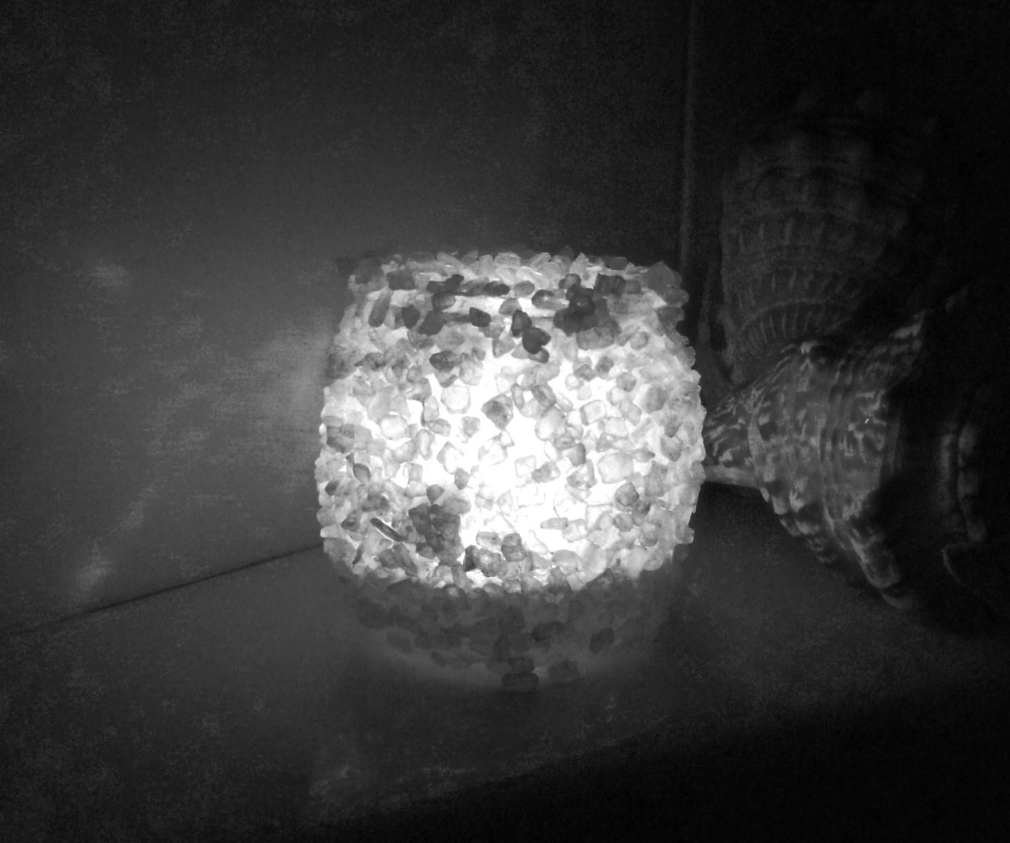 Lanternine con il sale creare scout - Bagno con sale grosso ...