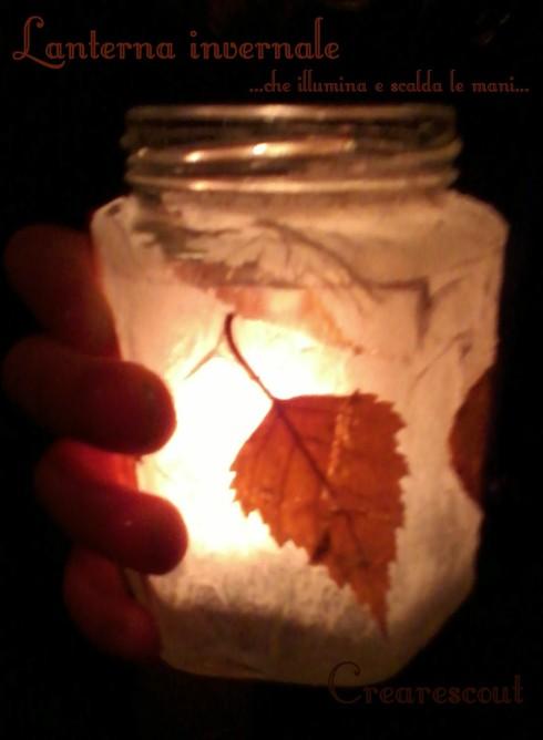 lanterna foglie